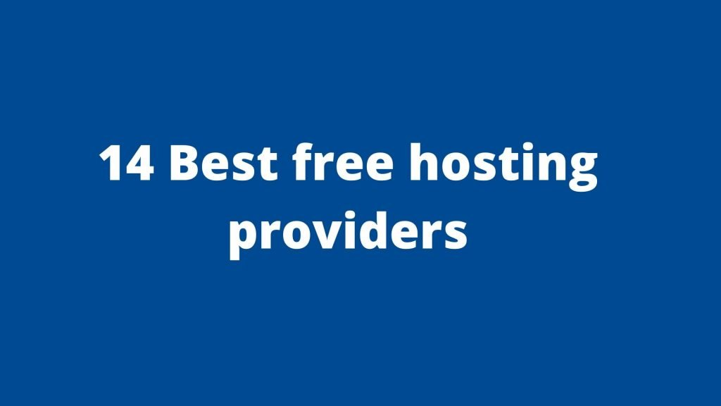 Best Free Web Hosting Providers Online