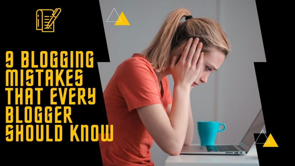 Beginner bloggers - Blogging mistakes