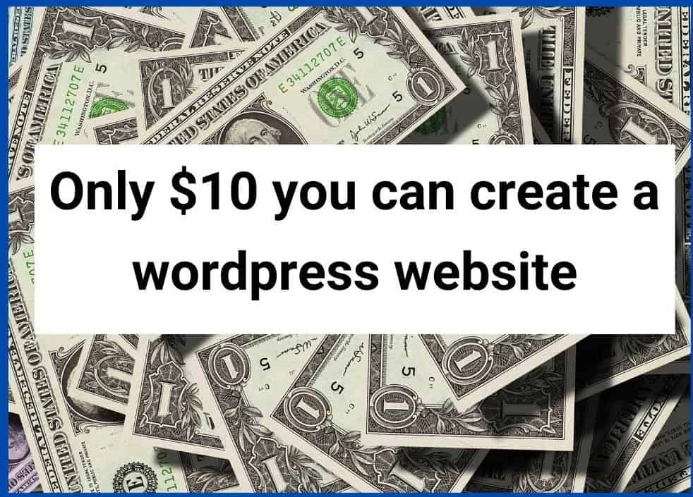 Cost to create a website - Title