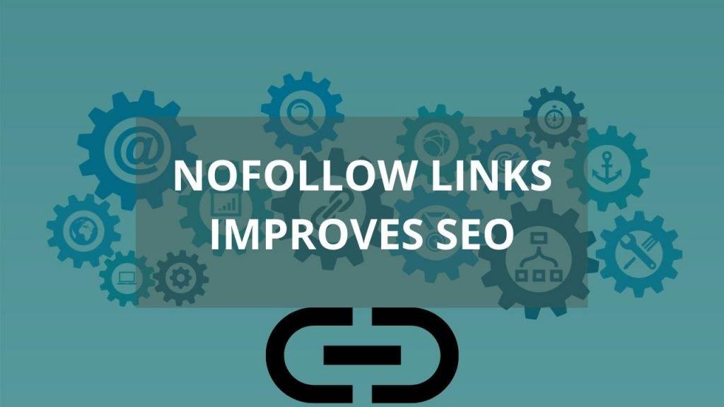 Nofollow links help to improve SEO