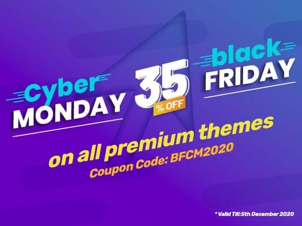 AccessPress Black Friday and Cyber Monday Offers