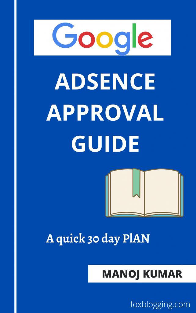Google Adsense ebook cover