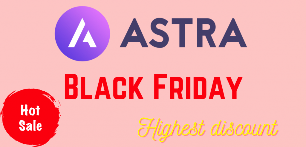 Astra theme Black Friday and Cyber Monday Deals