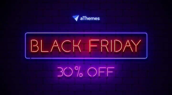 Athemes Black Friday Deals