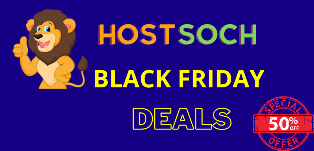 HostSoch Black Friday Discounts