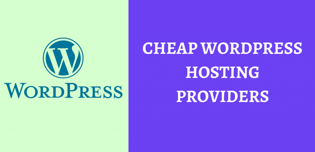 Affordable and Cheap WordPress Hosting providers