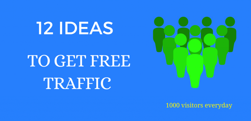 Drive Free traffic to my website