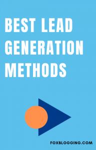 Lead Generation Methods