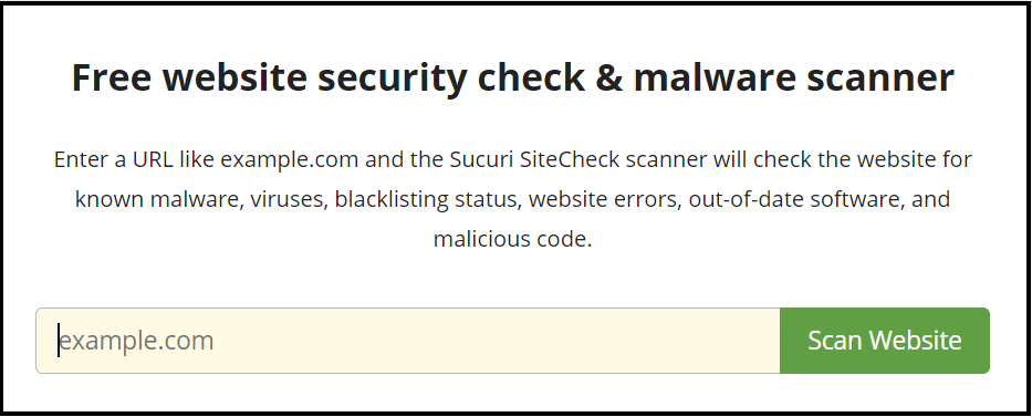 Free malware scanner to find WordPress redirect hack