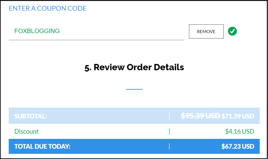 TMD hosting Coupon code and discounts