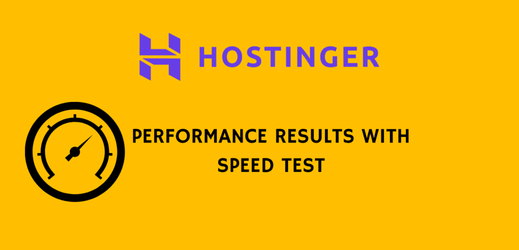 Website Performance speed test