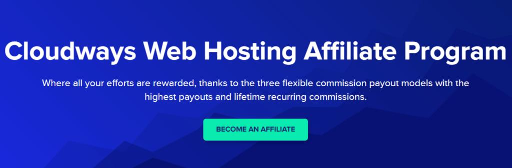 Cloudways - Cloud hosting affiliate programs