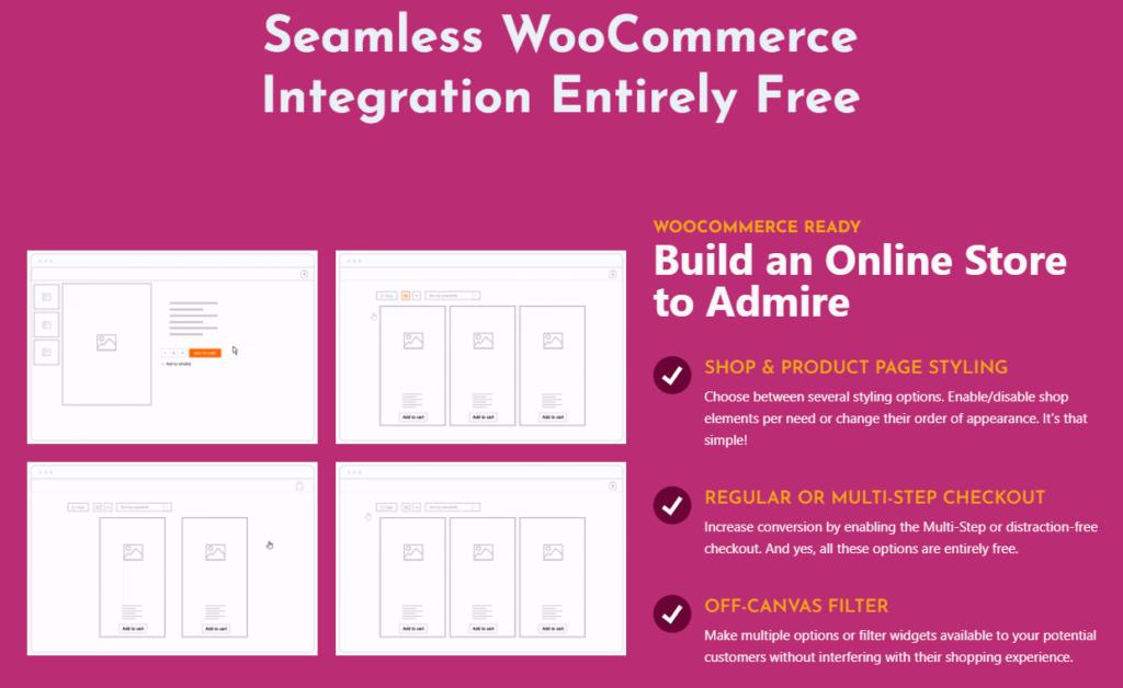 OceanWP theme WooCommerce integration